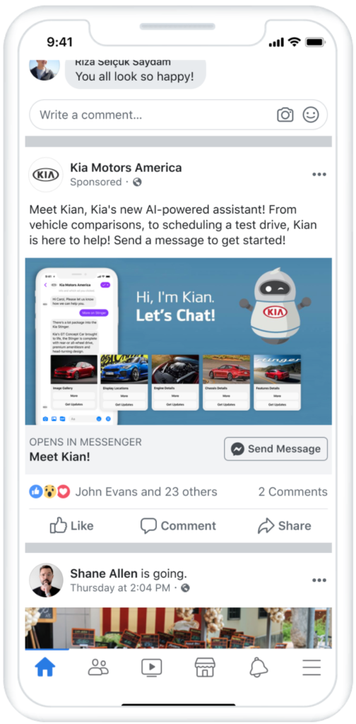 click-to-messenger ads